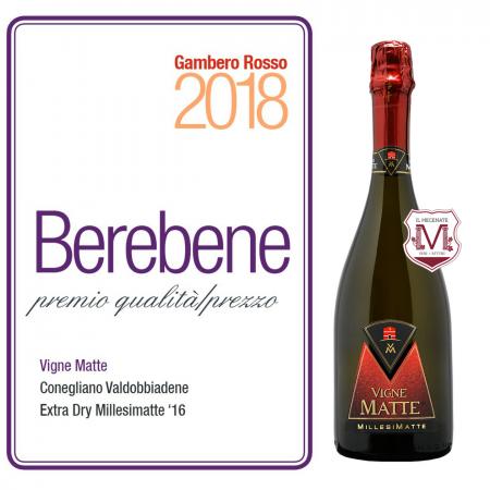 Vigne Matte vince il premio del Gambero Rosso
